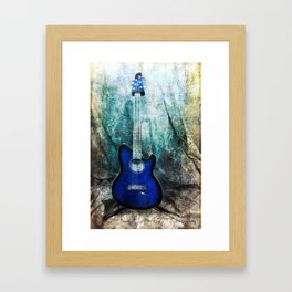 Play Me Some Blues Framed Art Print