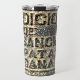 Foundry Plaque Travel Mug