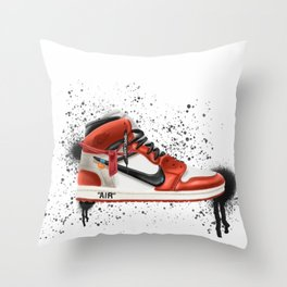 OFF WHITE J1 Throw Pillow