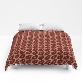 Sexy Lips Seamless Pattern Comforters