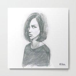 Kiko Metal Print