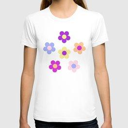 Flower Power Design T-shirt
