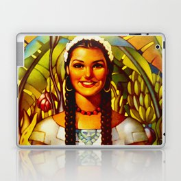 Vintage Bountiful Mexico Travel Laptop & iPad Skin