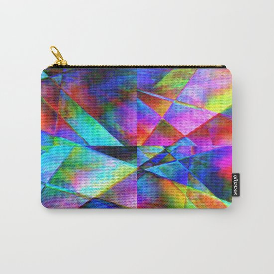Сomposition geometrical Carry-All Pouch