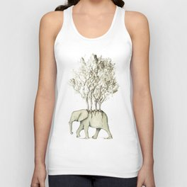Carrying the Νature Unisex Tank Top