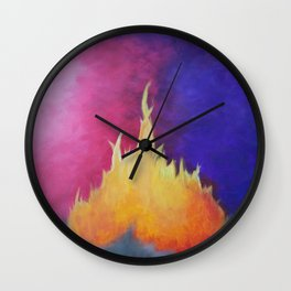 Reignite Wall Clock
