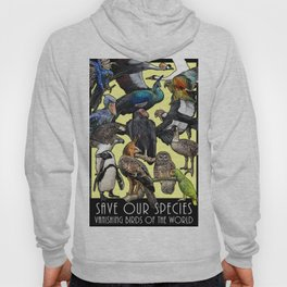 Save Our Species: Vanishing Birds of the World Hoody