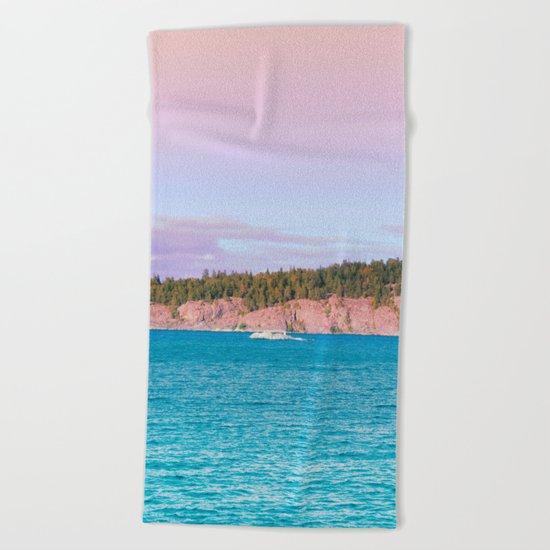 Pastel vibes 31 Beach Towel