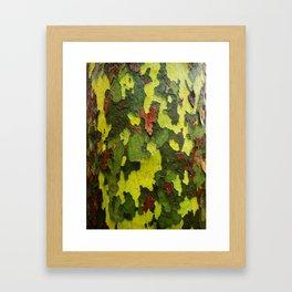 Real Camouflage Framed Art Print