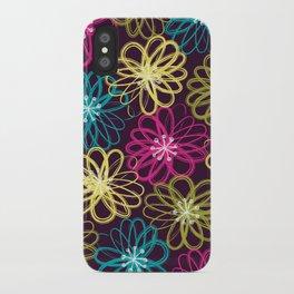 Drybrush Floral iPhone Case