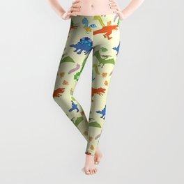 Dinosaur Pattern Leggings