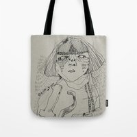 workout Tote Bags featuring Workout by ahyeongcho