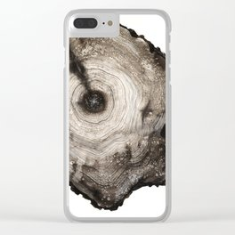 cross-section I Clear iPhone Case