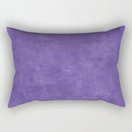 Ultra Violet Oil Pastel Color Accent Rectangular Pillow