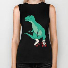 Tyrollersaurus Rex Biker Tank