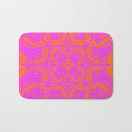Retro Graphic Bath Mat