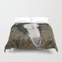 goat Duvet Covers featuring Goat by JCalls Photography
