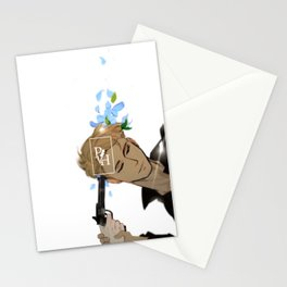 Flower Murder (William) Stationery Cards
