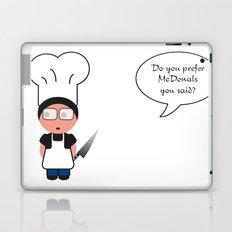 Job serie: the chef Laptop & iPad Skin