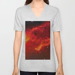 Emission Nebula Unisex V-Neck