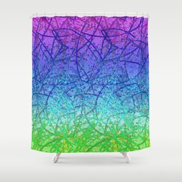 Grunge Art Abstract G57 Shower Curtain