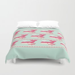Triangwhales Duvet Cover