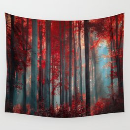 Magical trees Wall Tapestry