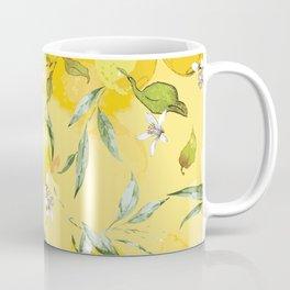 Watercolor lemons 5 Coffee Mug