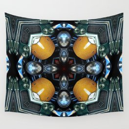 Abstract Auto Artwork One Wall Tapestry