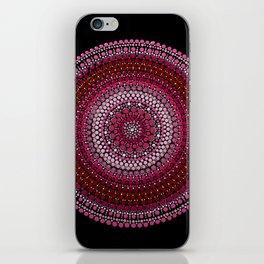 All Pink Mandala iPhone Skin