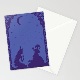Scheherazade and a thousand and one nights Stationery Cards