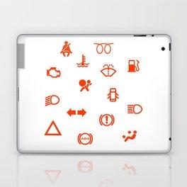 Vehicle Dash Warning Symbols Laptop & iPad Skin