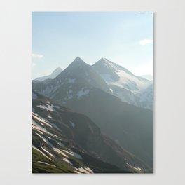 Austria's Highest Summits in the Hohe Tauern Canvas Print