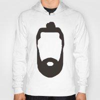 beard Hoodies featuring Beard by jorgeink