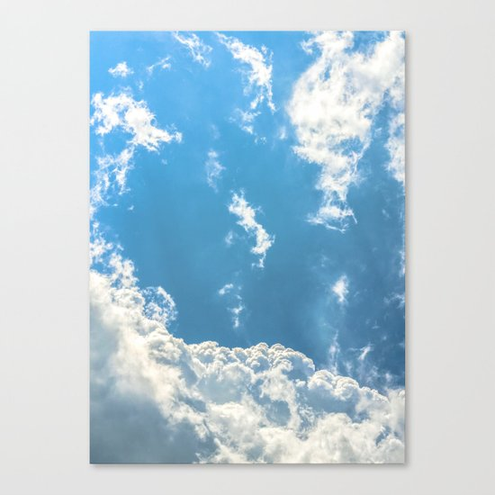 Floating on Air Canvas Print