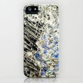Crystal I iPhone Case