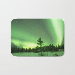 Aurora Borealis in Alaska 3 Bath Mat