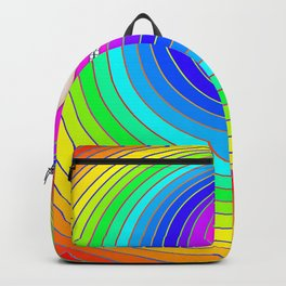 Peacocking Backpack