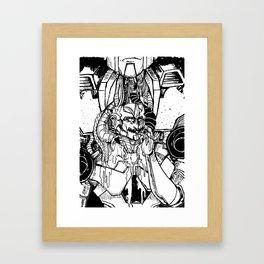 B&W MINIMUS Framed Art Print