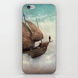 Flying Merchant iPhone Skin
