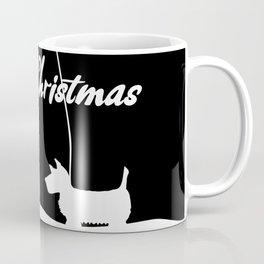 Westie White Christmas Coffee Mug