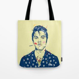 WTF? ELVIS MORNING PARTY Tote Bag