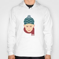home alone Hoodies featuring Home alone Kevin by Gary  Ralphs Illustrations