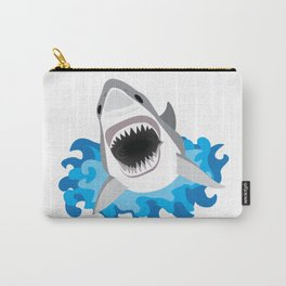 Shark Attack #2 Carry-All Pouch