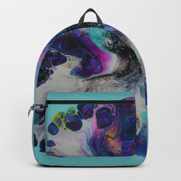 Galaxy Flower - Blue Backpack