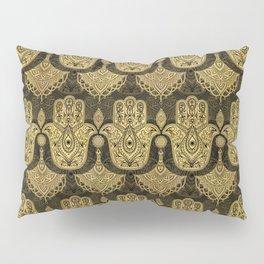 Hamsa Hand - Hand of Fatima Pattern Pillow Sham