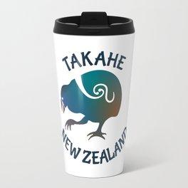 TAKAHE New Zealand Native bird Travel Mug