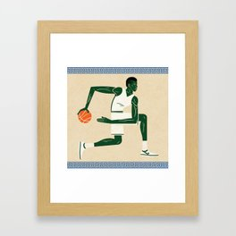 Greek Freak Framed Art Print