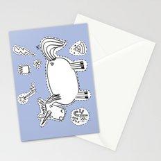 Unicorn starter kit Stationery Cards
