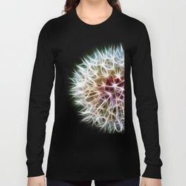 Fractal dandelion Long Sleeve T-shirt